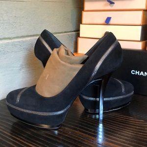 Gucci Zipper heels